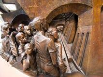 Zentrale Bogen-Skulptur Lizenzfreies Stockbild
