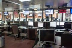 Zentrale in der Guayana-Raum-Mitte lizenzfreie stockbilder