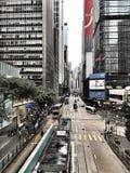 Zentrale, Hong Kong Lizenzfreies Stockbild