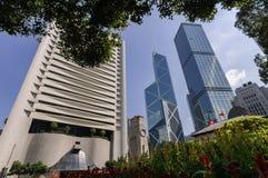 Zentrale, Hong Kong Stockfoto