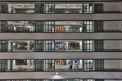 Zentrale, Hong Kong PMQ ist ein Standort Stockfotos