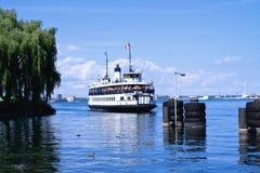 Zentrale Insel-Fähre Lizenzfreies Stockfoto
