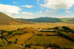 Zentrale Italien-Landschaft Lizenzfreies Stockfoto