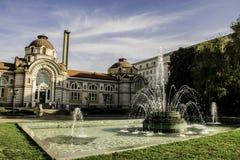 Zentrale Mineralbäder in Sofia, Bulgarien lizenzfreie stockfotografie
