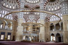 Zentrale Moschee in Adana, die Türkei Lizenzfreie Stockfotos