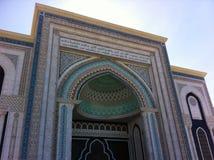 Zentrale Moschee in Astana Lizenzfreie Stockbilder