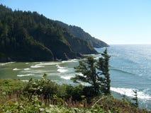 Zentrale Oregon-Küste stockbild