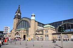 Zentrale Station Hamburg Stockfotos