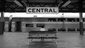 Zentrale Station, Sydney Stockbild