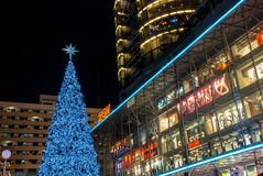 Zentrale Welt, Bangkok, Thailand Lizenzfreie Stockfotografie