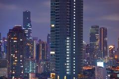 Zentrale Welt (CTW) das berühmte der Einkaufszentren Stadtzentrum herein von Bangkok Lizenzfreie Stockfotografie