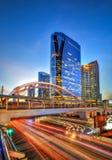 Zentrale Welt (CTW) das berühmte der Einkaufszentren Stadtzentrum herein von Bangkok Lizenzfreie Stockfotos
