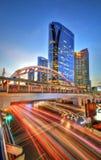 Zentrale Welt (CTW) das berühmte der Einkaufszentren Stadtzentrum herein von Bangkok Stockbild