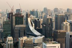 Zentrale Welt (CTW) das berühmte der Einkaufszentren Stadtzentrum herein von Bangkok Stockfotos