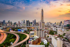 Zentrale Welt (CTW) das berühmte der Einkaufszentren Stadtzentrum herein von Bangkok Stockfotografie