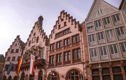 Frankfurt-Stadtplatz Lizenzfreie Stockfotografie