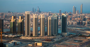 Zentraler Abu Dhabi, UAE stockfotografie