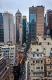 Zentraler Bezirk Hong Kong stockfotografie