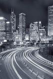 Zentraler Bezirk von Hong Kong-Stadt Stockfoto