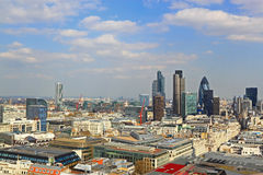 Zentraler Bezirks-Ansicht Londons Lizenzfreie Stockbilder