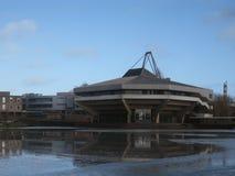 Zentraler Hall an der Universität von York in Großbritannien Lizenzfreie Stockfotos