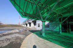 Zentraler Kreis Moskaus, ist 54 Eisenbahn des Orbital 4-kilometre-long Russland Am 10. September 2016 geöffnet Bahnhof Delovoy Ts Stockbilder