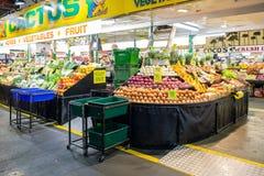 Zentraler Markt in Adelaide, Süd-Australien Stockbild