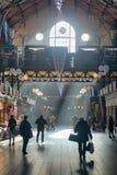 Zentraler Markt Hall in Budapest, Innen Lizenzfreie Stockfotos
