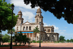 Zentraler Platz in Managua Lizenzfreie Stockfotografie
