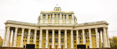Zentrales akademisches Theater der russischen Armee lizenzfreie stockbilder