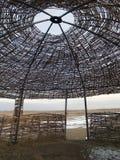 Zentrales asiatisches yurt stockfotos
