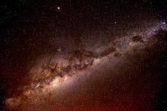 Zentrales Band der Milchstraße stockfotos