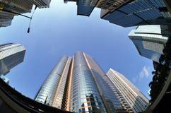 Zentrales commerical Gebäude Lizenzfreie Stockbilder