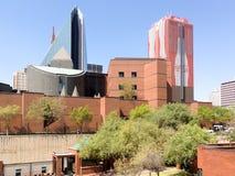 Zentrales Geschäftsgebiet - Johannesburg, Südafrika lizenzfreies stockbild