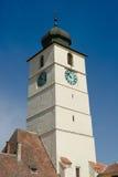 Zentrales Quadrat, Sibiu - Rumänien Stockbild