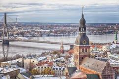 Zentrales Riga Stockbild