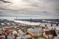 Zentrales Riga Stockfoto