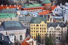 Zentrales Riga Lizenzfreies Stockfoto