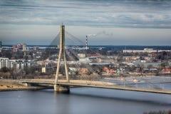 Zentrales Riga Stockfotografie
