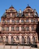 Zentrales Teil des alten Schlosses von Heidelberg in Deutschland Lizenzfreies Stockbild