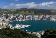 Zentrales Wellington lizenzfreie stockfotos