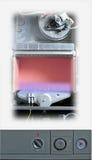 Zentralheizung-Dampfkessel stock abbildung