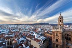 Zentripetale Beschleunigung - Màlaga, Andalusien, Spanien Stockbilder