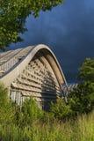Zentrum Paul Klee museum i Bern, Schweiz Arkivbilder