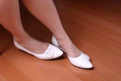 Zenuwachtige voeten Stock Fotografie
