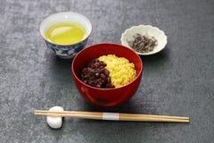 Zenzai de Awa, postre tradicional japonés Imagen de archivo libre de regalías
