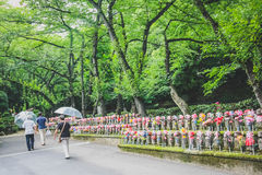 Zenzoji temple in Tokyo, Japan Royalty Free Stock Photography