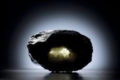 Zeolita mineral Imágenes de archivo libres de regalías