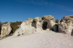 Zeolite φυσικό φαινόμενο πετρών Zeolite πετρών arche Στοκ Εικόνες