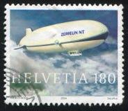 zeppelin foto de archivo libre de regalías
